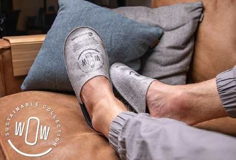 RPET Vilten Indoor Slippers 02