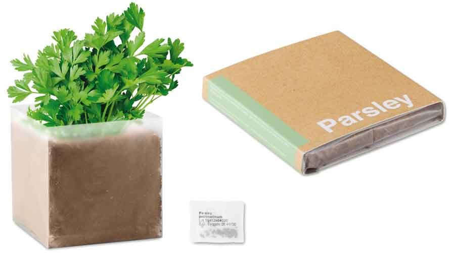 Zak met peterseliezaadjes Parsley