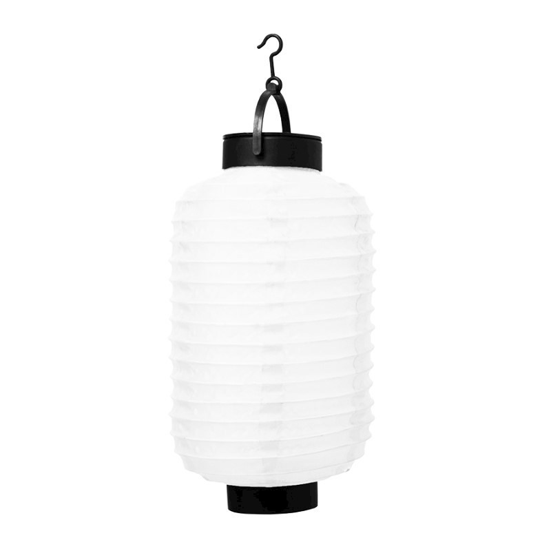 Senza Solar LED Lantern Oval White