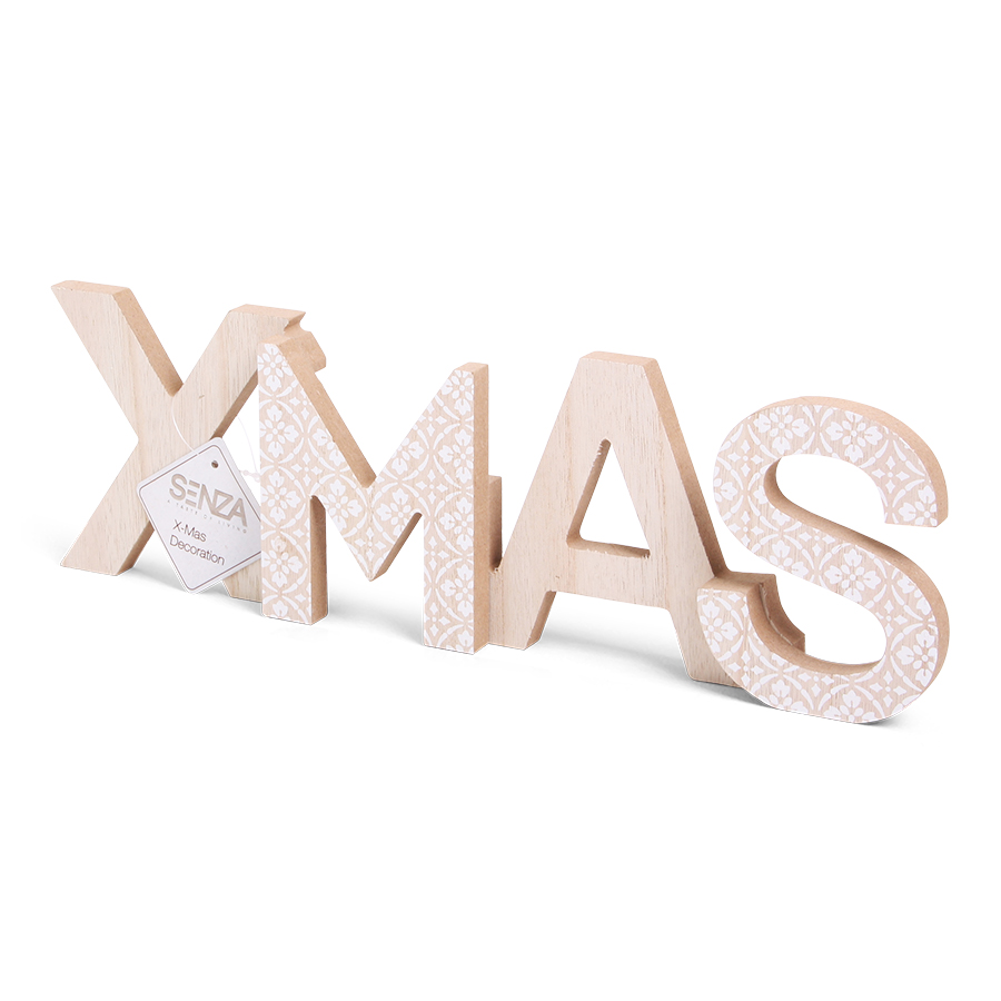 Vibes XMAS Word Decoration