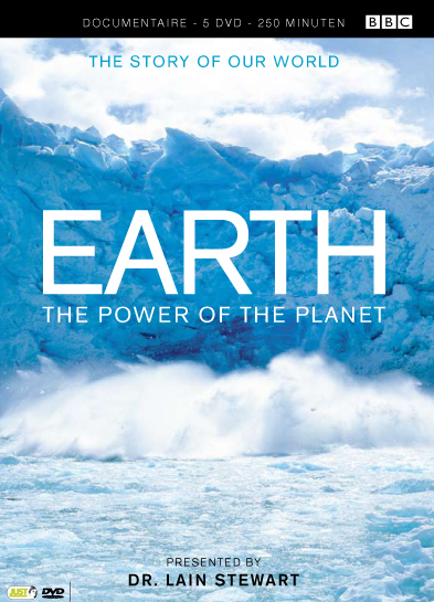 Groene DVD's - EARTH, THE POWER OF THE PLANET
