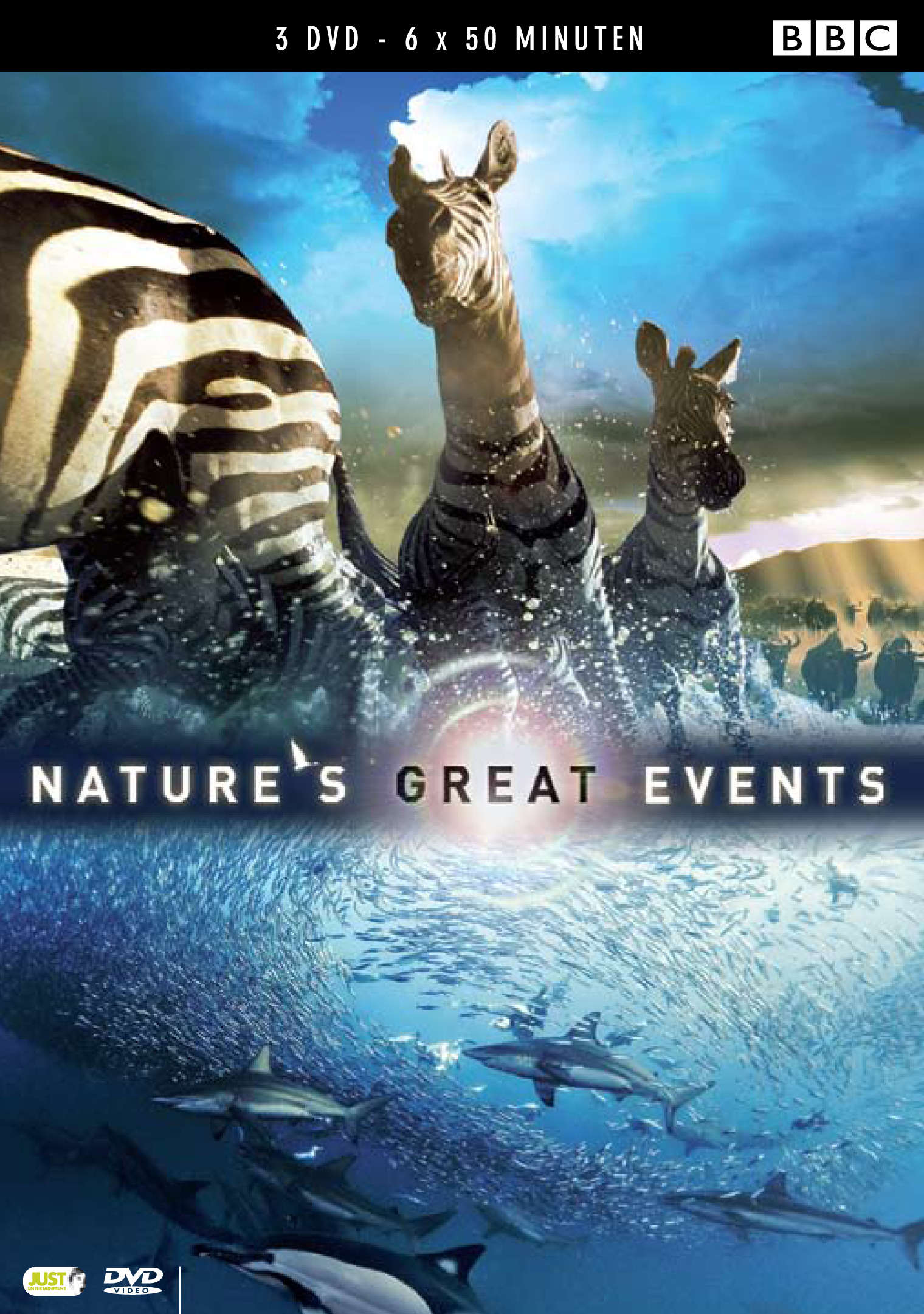 Groene DVD's - Nature's Great Events